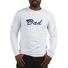 New Dad Long Sleeve T-Shirt