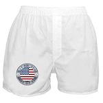 4th of July Souvenir Flag Boxer Shorts