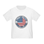 4th of July Souvenir Flag Toddler T-Shirt
