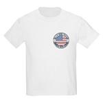 4th of July Souvenir Flag Kids Light T-Shirt