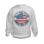 4th of July Souvenir Flag Kids Sweatshirt
