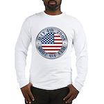 4th of July Souvenir Flag Long Sleeve T-Shirt