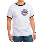 4th of July Souvenir Flag Ringer T