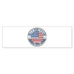 4th of July Souvenir Flag Bumper Sticker (50 pk)