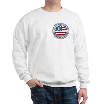 4th of July Souvenir Flag Sweatshirt