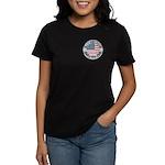 4th of July Souvenir Flag Women's Dark T-Shirt