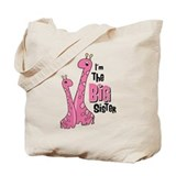 Giraffe Big Sis Tote Bag