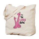 Giraffe Little Sis Tote Bag