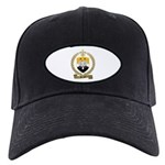 BERNIER Family Crest Black Cap