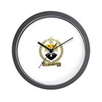 BERNIER Family Crest Wall Clock
