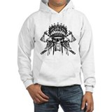 Indian Skull Tribe Jumper Hoody