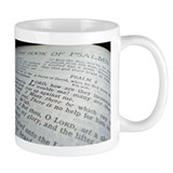 Book of Psalms Bible Mug