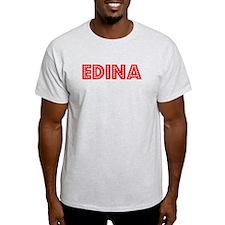 Retro Edina (Red) T-Shirt