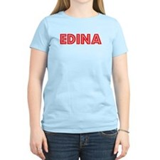 Retro Edina (Red) T-Shirt