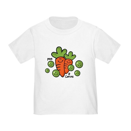 Peas And Carrots Toddler T-Shirt