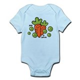Peas And Carrots Onesie