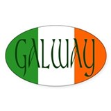 County Galway Oval Decal