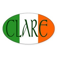 County Clare Oval Sticker (10 pk)