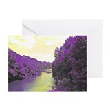 River in the Bronx, NY Greeting Cards (Pkof10)