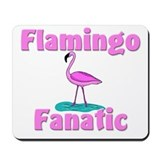 Flamingo Fanatic Mousepad