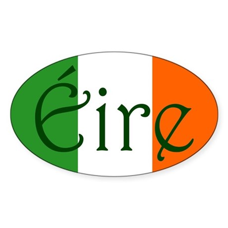 &amp;#201;ire (Ireland) Oval Sticker