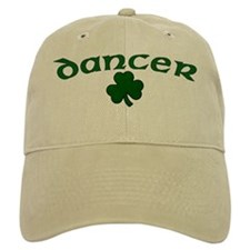 Irish Dancer Shamrock Baseball Baseball Cap