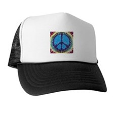 Blue Peace Trucker Hat