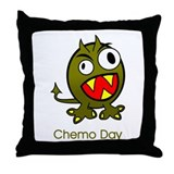 Chemo Day Throw Pillow