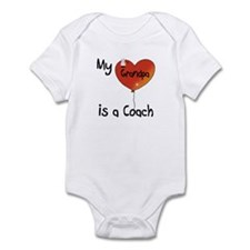 Coach Infant Bodysuit