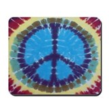Blue Peace Mousepad