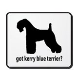 Got Kerry Blue Terrier? Mousepad
