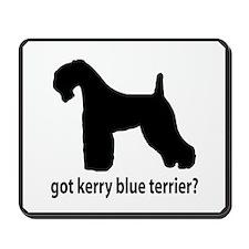 Got Kerry Blue Terrier? Mousepad
