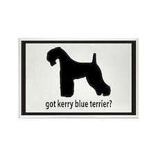 Got Kerry Blue Terrier? Rectangle Magnet