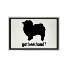 Got Keeshond? Rectangle Magnet