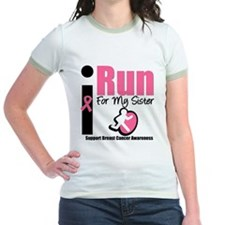 I Run For Breast Cancer T