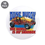 "Dune Buggy Sandbox 3.5"" Button (10 pack)"
