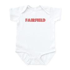 Retro Fairfield (Red) Infant Bodysuit