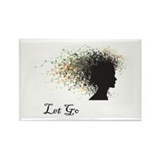 Let Go Rectangle Magnet (10 pack)