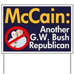 McCain: Another Bush Yard Sign