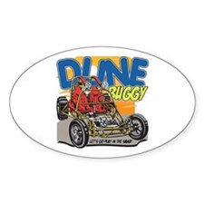 Dune Buggy Dirt Oval Decal