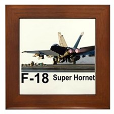F-18 Super Hornet Framed Tile