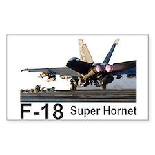 F-18 Super Hornet Rectangle Decal