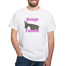Bongo Fanatic White T-Shirt