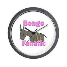 Bongo Fanatic Wall Clock
