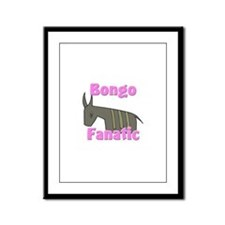 Bongo Fanatic Framed Panel Print