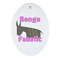Bongo Fanatic Oval Ornament