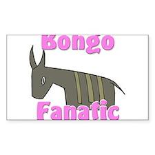 Bongo Fanatic Rectangle Sticker