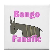 Bongo Fanatic Tile Coaster