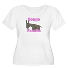 Bongo Fanatic Women's Plus Size Scoop Neck T-Shirt