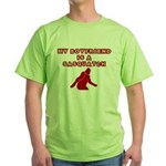 FUNNY BOYFRIEND SHIRT MY BOYF Green T-Shirt